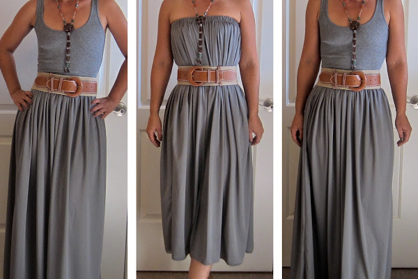 Maxi Skirt/Dress Tutorial - Mimi G Style