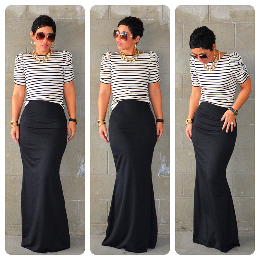 Diy Fishtail Maxi Diy Puff Sleeve Top Pattern Review B5562 Mimi G Style