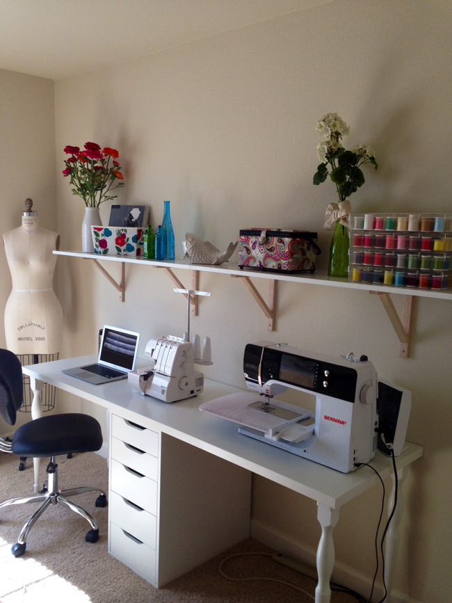 My Sewing Studio Closet Madness Mimi G Style: sewing room designs