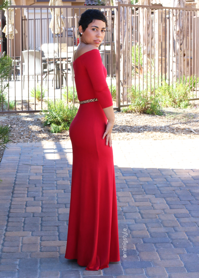 DIY Red Dress