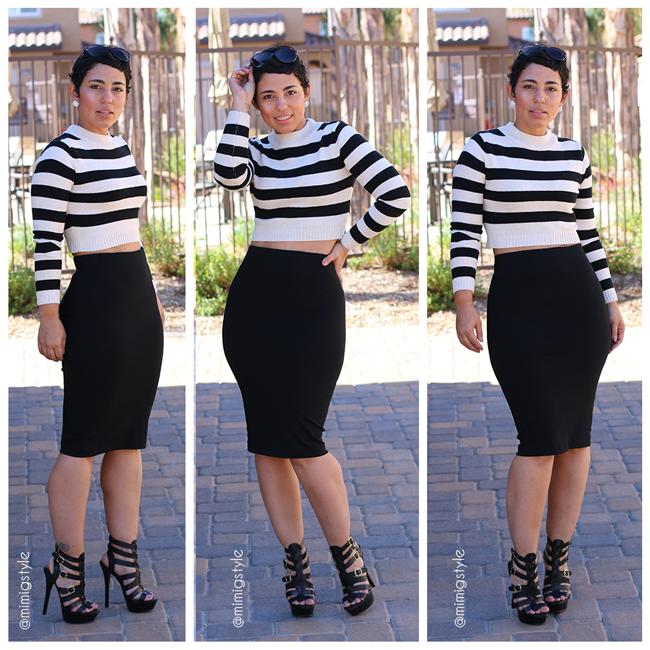 1 Skirt 3 Looks! DIY Pencil Skirt - Mimi G Style