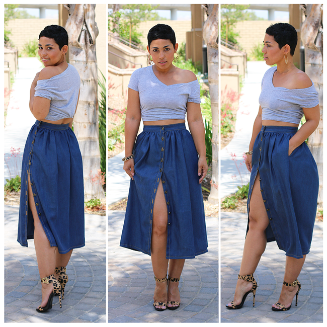 NEW! Perfect Denim Skirt Tutorial - Mimi G Style