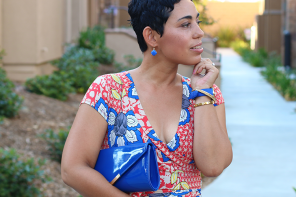 Floral Print Wrap Dress + The Regal Maxi Is Back!