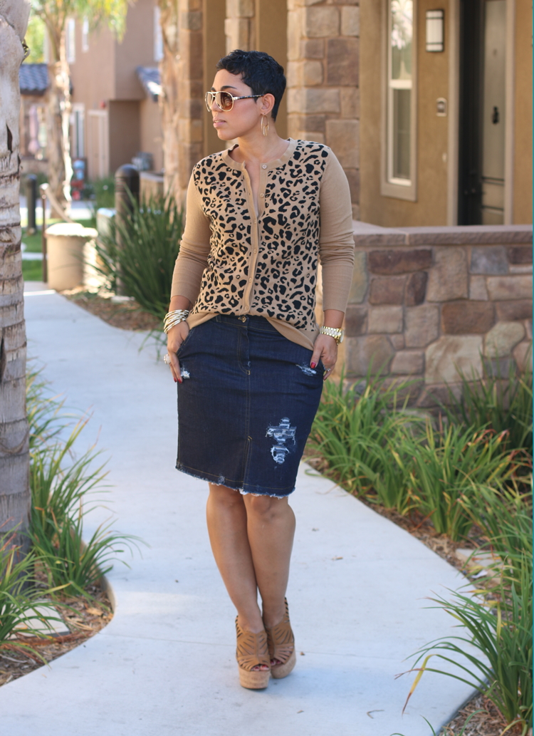 diy distressed denim skirt pattern review mimi g style