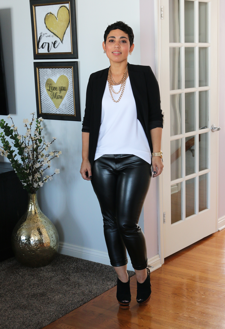 New Mimi G For Simplicity Leather Look Mimi G Style