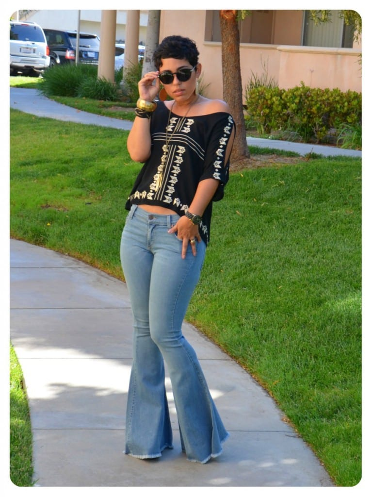 Tbt Flared Jeans Mimi G Style
