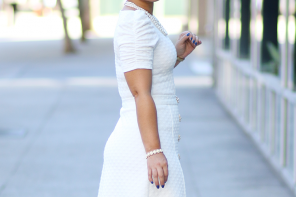 MY WINTER WHITE DIY SKIRT AND TOP