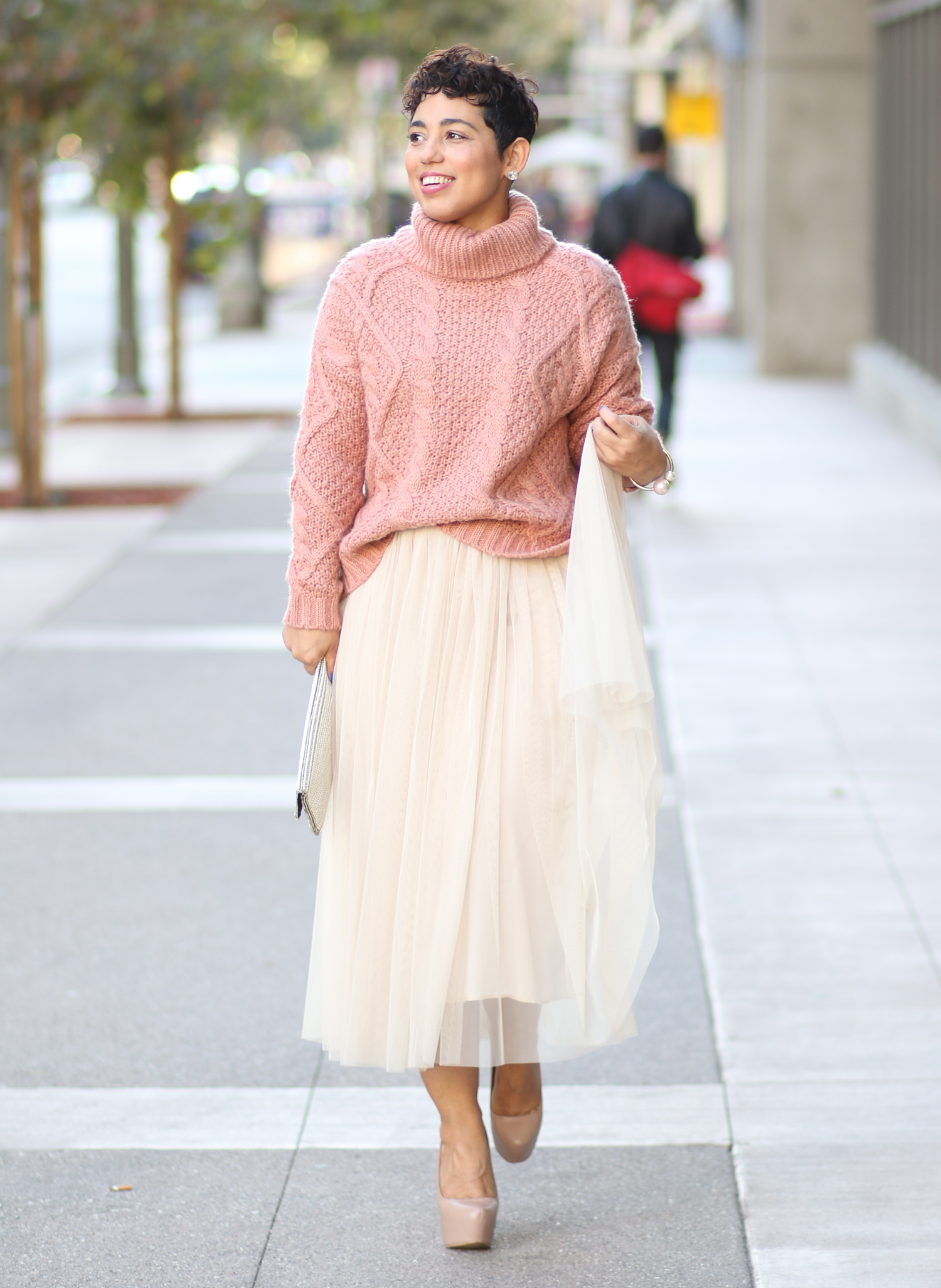 DIY Tulle Skirt + Pattern Review S1427 | Mimi G Style