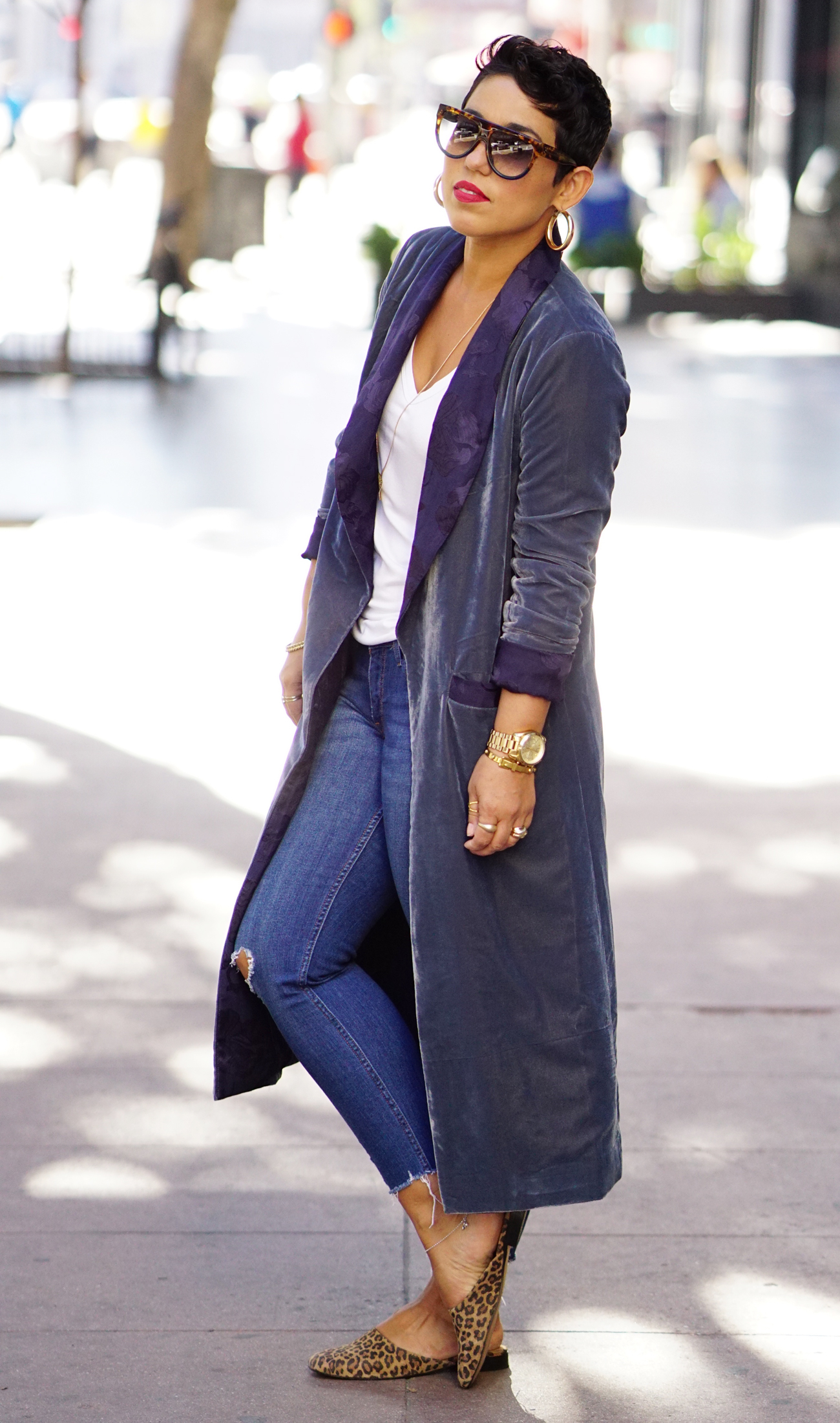 My Velvet Jacket And Jeans Mimi G Style