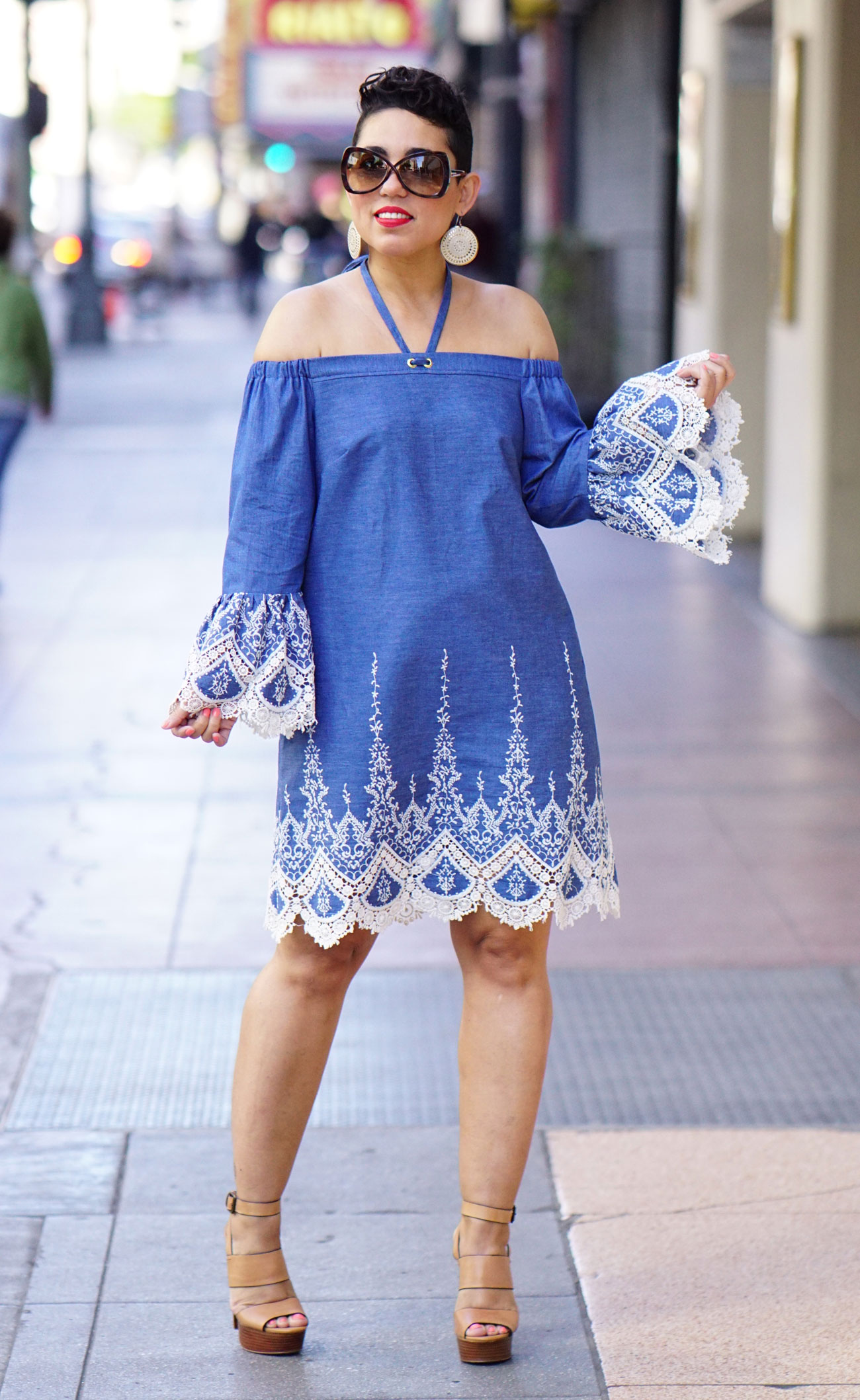 DIY Lace Dress