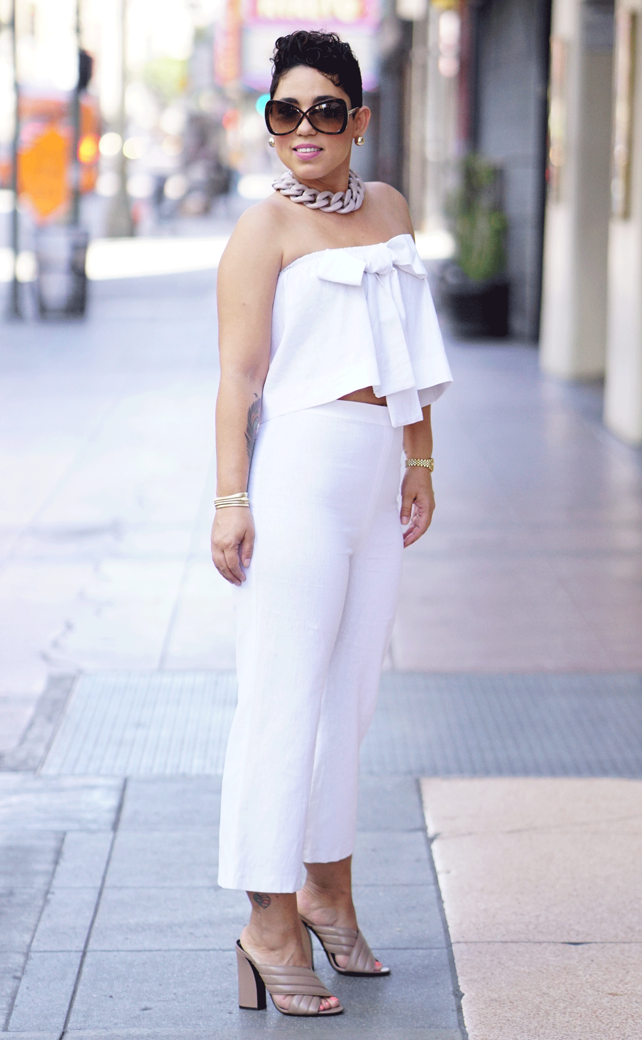 Diy White Two Piece Mimi G Style