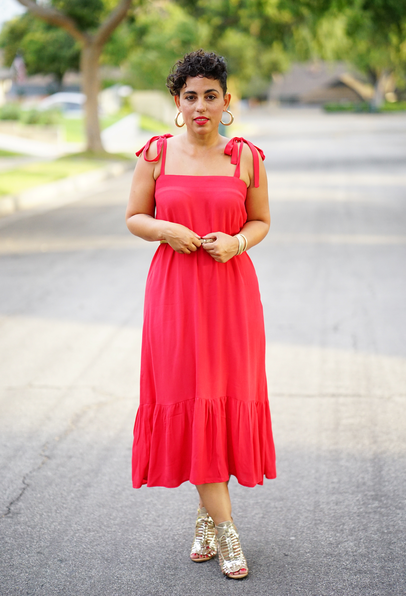 Easy Diy Dress With Ruffle Diy Video Mimi G Style