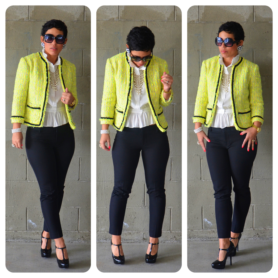 a1df6344edd2 DIY Hand Sewn Chanel Inspired Jacket + Pattern Review V7975 | Mimi G Style