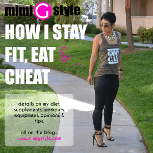 How I Stay Fit, Workout, Eat and Cheat! | Mimi G Style