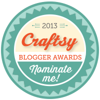 Nominate me for Craftsy's blogger awards!