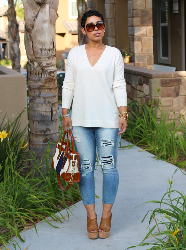 Casual Jeans Wedges Mimi G Style