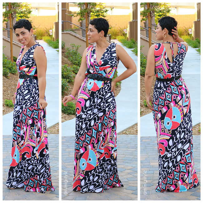 6ffd65115c DIY Colorful Maxi Dress