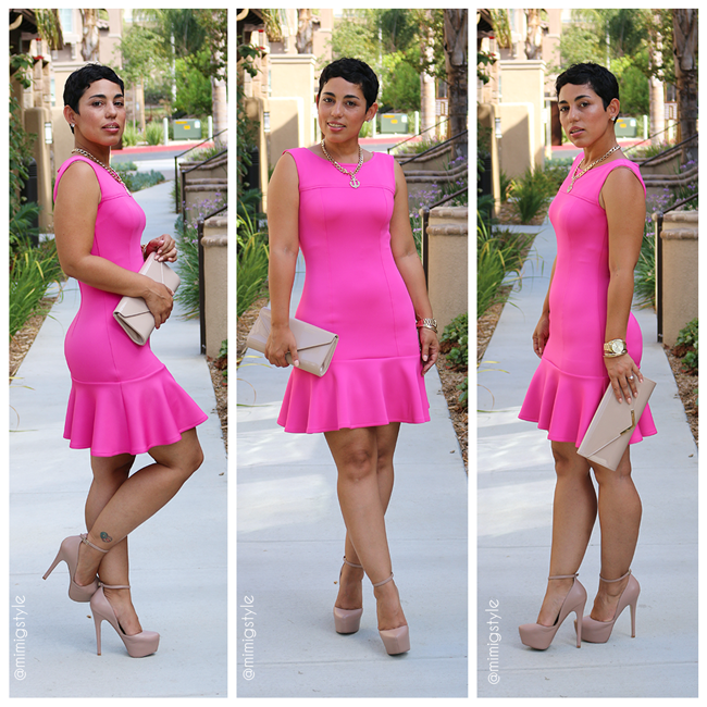 e14b98156a DIY Pink Dress + Pattern Review M6988 | Mimi G Style