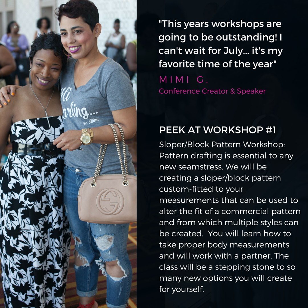 This years workshops are going to be amazing! I can't wait for July.-3