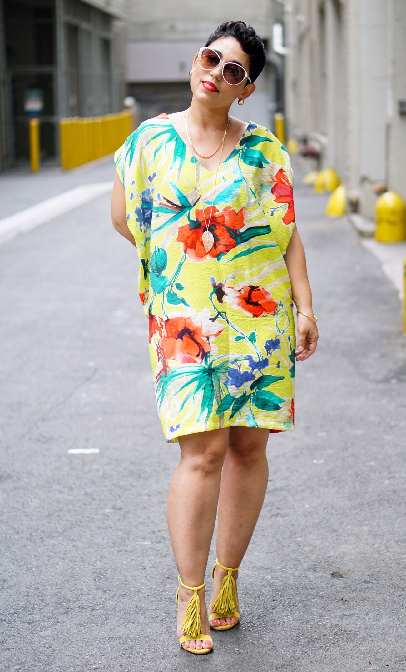 floral-shift-dress
