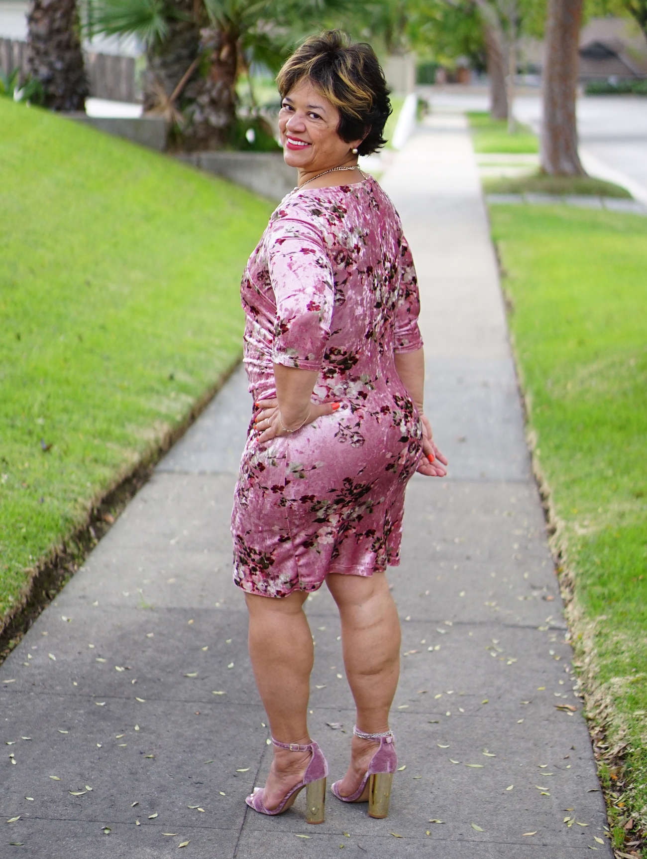 diy faux wrap dress