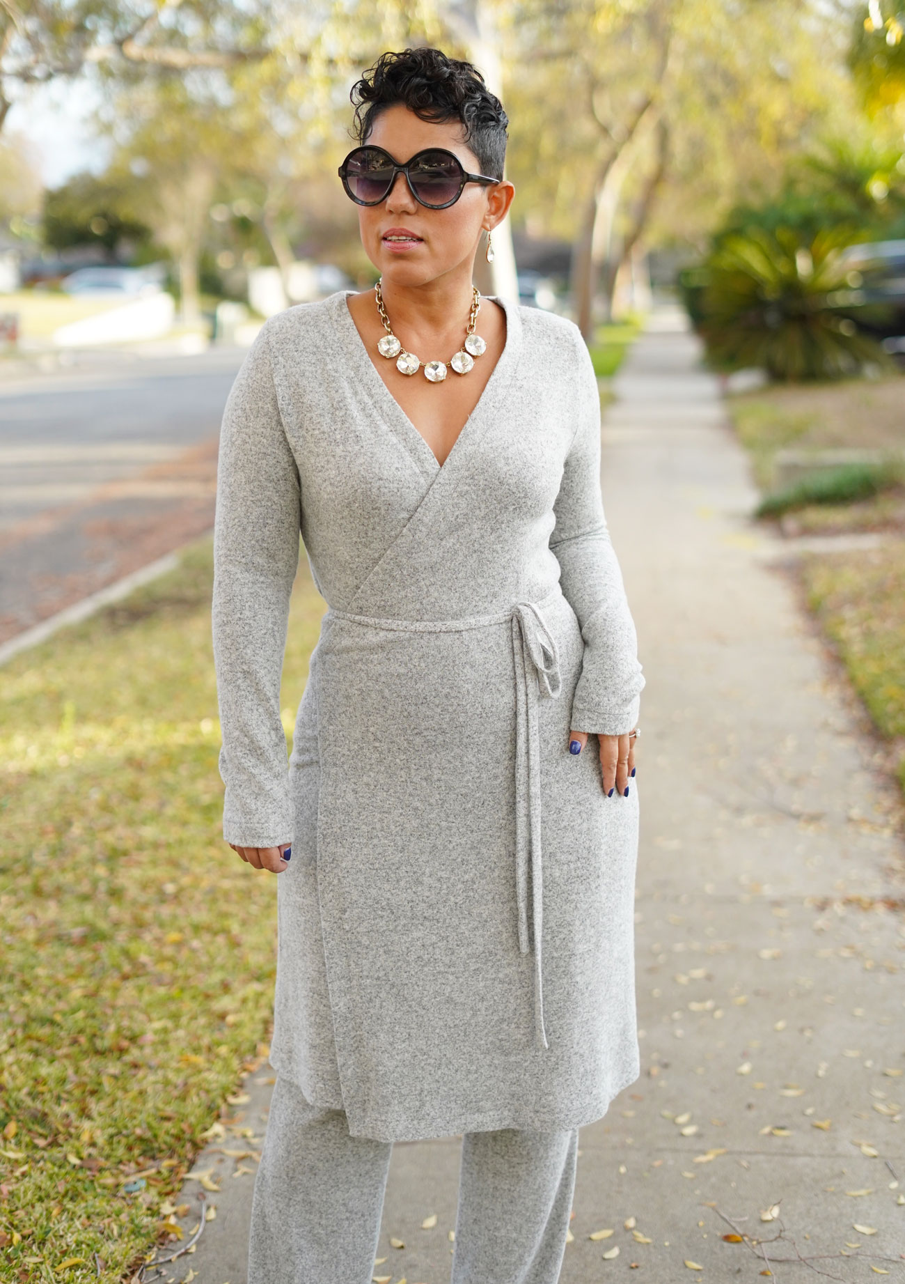 Diy Wrap Dress And Pants Using New Look 6581 Mimi G Style