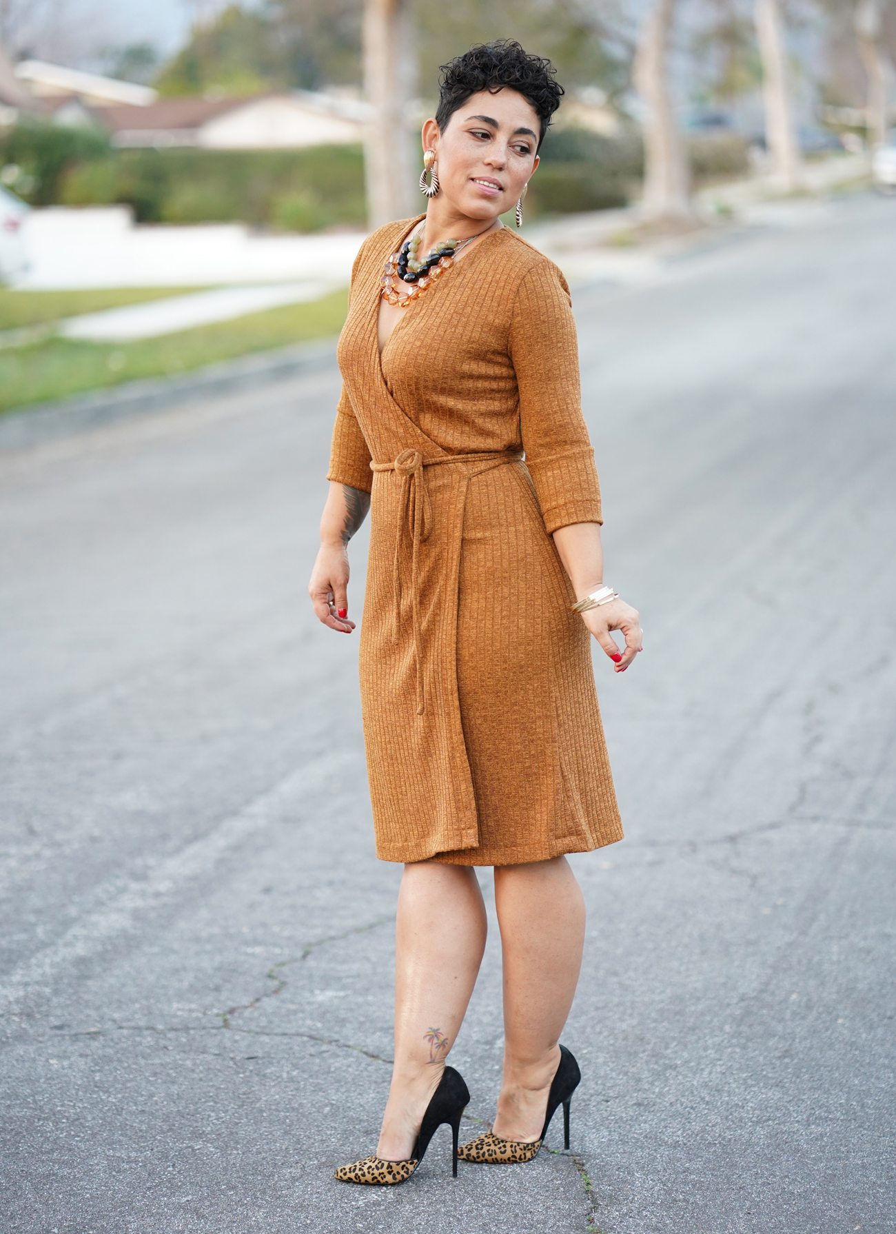 Diy Wrap Dress Using New Look 6581 Sew Along Video